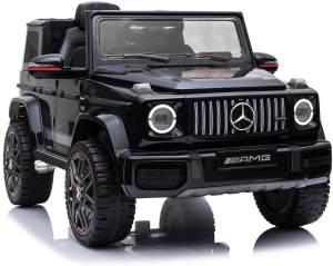 Toys Store 'Mercedes Benz G63 Amg Jeep Suv' Kinderelektro-Auto, ab 2 Jahren, max. belastbar bis 40 kg, 3 - 5 km/h, schwarz