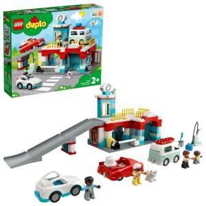 LEGO DUPLO 10948 'Parkhaus mit Autowaschanlage', 112 Teile, ab 2 Jahren