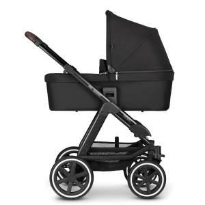 ABC Design 'Viper 4' Kombikinderwagen 3 in 1 Midnight inkl. Sportsitz, Babywanne, Cybex Cloud Z Babyschale Soho Grey