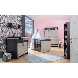 Schardt 'Clou' 2-tlg. Babyzimmer-Set Pinie Dekor