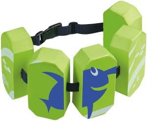 BECO 'Sealife' Schwimmgürtel, grün, verstellbares Gurtband mit Patentverschluss, für Kinder von 2-6 Jahren und 15-30 kg Körpergewicht