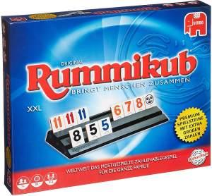 Jumbo Spiele 03819 'Rummikub XXL', Legespiel, 2-4 Spieler, ab 8 Jahren, Spielzeit 40 Minuten