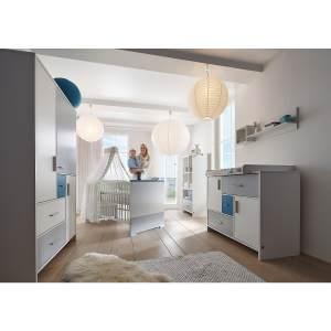 Schardt 'Candy Blue' 3-tlg. Babyzimmer-Set