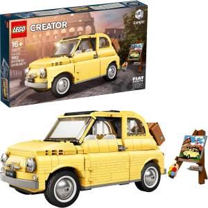 LEGO Creator Expert 10271 'Fiat 500', 960 Teile, ab 16 Jahren, originalgetreuer Modellbausatz mit zahlreichen Details