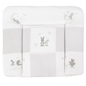 Roba 'Fox & Bunny' Wickelauflage 75 x 85 cm beige