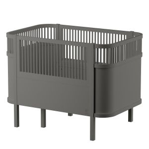 Sebra Kombi-Kinderbett grau