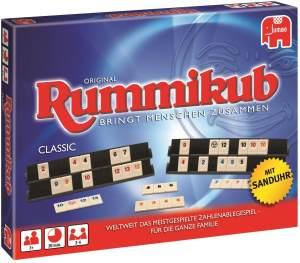 Jumbo Spiele 'Original Rummikub Classic' Legespiel, ab 7 Jahren, 2 - 4 Spieler, 20 min Spielzeit, Spiel des Jahres 1980