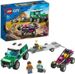 LEGO City 60288 'Rennbuggy-Transporter', 210 Teile, ab 5 Jahren