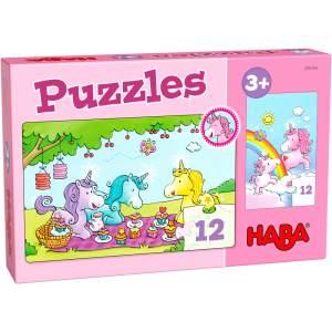 HABA Puzzles Einhorn Glitzerglück # Rosalie & Friends