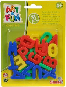 Simba 'Art & Fun Magnet-Großbuchstaben', ab 3 Jahren, 31 Teile