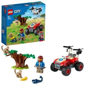 LEGO City 60300 'Tierrettungs-Quad', 74 Teile, ab 5 Jahren