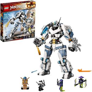 LEGO NINJAGO 71738 'Zanes Titan-Mech', 840 Teile, ab 9 Jahren