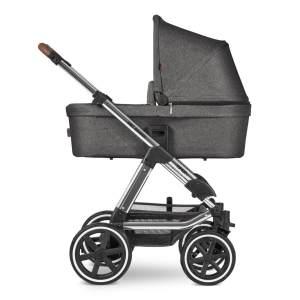 ABC Design 'Viper 4' Kombikinderwagen 3 in 1 Asphalt Diamond Special Edition inkl. Sportsitz, Babywanne, Cybex Cloud Z Babyschale Deep Black