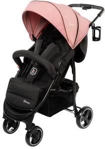 BabyGO 'Basket' Buggy Pink Melange inkl. Korb und Becherhalter