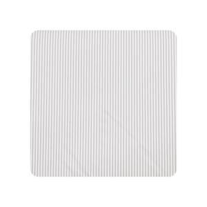 Alvi Wickelauflage Kuschel - 75x85 Streifen Grau