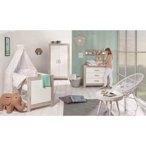 Schardt 'Nordic Halifax' 3-tlg. Babyzimmer-Set Schrank 2-türig