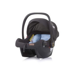 Chipolino 'Duo Smart' Babyschale Gruppe 0+ (0 - 13 kg), Sonnendach faltbar, Kissen blau