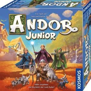 Kosmos 'Andor Junior - Haltet zusammen und beschützt das Land Andor!' Brettspiel, ab 7 Jahren, 2 - 4 Spieler, 30 - 45 min Spielzeit
