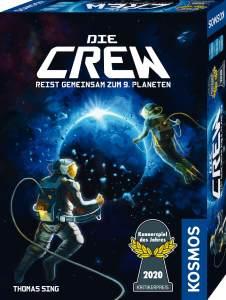 KOSMOS 'Die Crew' Kartenspiel, ab 10 Jahren, 2 - 5 Spieler, 20 min Spielzeit, Kennerspiel des Jahres 2020