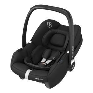 Maxi-Cosi 'Tinca i-Size' Babyschale 2020 Essential Black, 0-12 kg (45 bis 75 cm), mit Seitenaufprallschutz, inkl. Sonnenverdeck