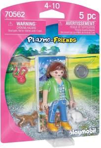 Playmobil Playmo-Friends 70562 'Frau mit Katzenbabys', 5 Teile, ab 4 Jahren