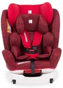 Kikkaboo Kindersitz 4 Fix Double Isofix SPS Gruppe 0+/1/2/3 (0-36kg) verstellbar rot