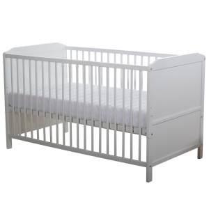 Baby Plus Kinderbett 'Abel' weiß