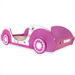Deuba 'Butterfly' Autobett 90x200cm pink