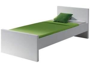 Vipack 'Lara' Einzelbett weiß, 90x200 cm