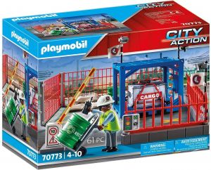 Playmobil City Action 70773 'Frachtlager', 65 Teile, ab 4 Jahren