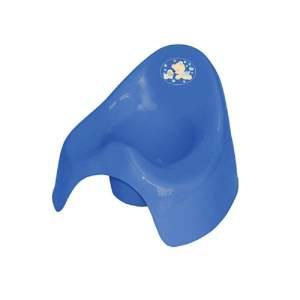 Lorelli Töpfchen aus unbedenklichem Kunststoff, Spritzschutz, leicht zu reinigen dunkelblau