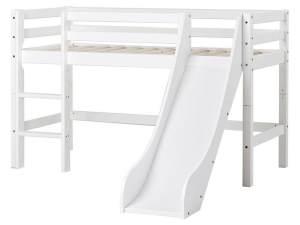 Hoppekids 'Basic' Halbhochbett weiß, 70x160cm