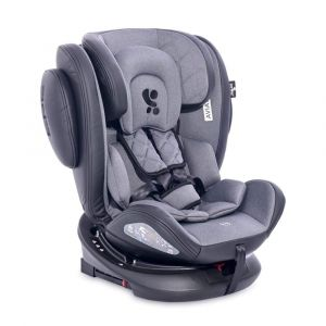 Lorelli Kindersitz Aviator SPS Isofix Gruppe 0+/1/2/3 (0 - 36 kg) 0 - 12 Jahre schwarz grau