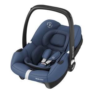 Maxi-Cosi 'Tinca i-Size' Babyschale 2020 Essential Blue, 0-12 kg (45 bis 75 cm), mit Seitenaufprallschutz, inkl. Sonnenverdeck