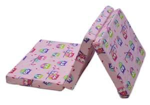 Best For Kids Reisebettmatratze inkl.Transporttasche 60 x 120 cm, rosa