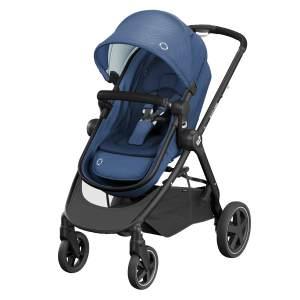 Maxi-Cosi 'Zelia2' Buggy Essential Blue, inkl. integrierter Babywanne