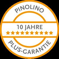 10 Jahre Pinolino Plus-Garantie
