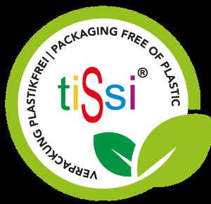 tiSsi Nachhaltigkeitssiegel - Plastikfreie Verpackung