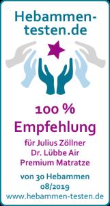 Julius Zöllner 'Dr. Lübbe Air Premium' Kaltschaummatratze 60 x 120 cm