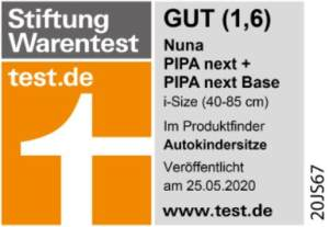 Stiftung Warentest: Gut (1,6)