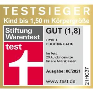 CYBEX Gold 'Solution S-Fix' Autokindersitz Autumn Gold, von 15 bis 36 kg (Gruppe 2/3)
