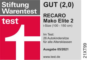 Stiftung Warentest: Gut (2,0)