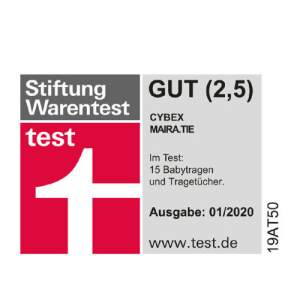 Stiftung Warentest: Gut (2,5)
