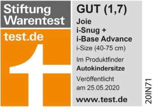 Stiftung Warentest: Gut (1,7)