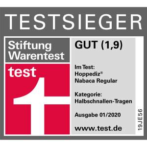 Stiftung Warentest: Gut (1,9)
