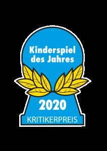 Ausgezeichnet als Kinderspiel des Jahres 2020