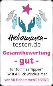 Tommee Tippee Windeleimer Twist & Click Sangenic, grün