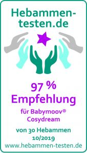 Babymoov 'Cosydream' Ergonomische Babystütze grau