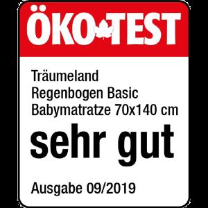 Träumeland 'Regenbogen' Kaltschaummatratze Basic 70x140 cm