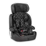 Lorelli Kindersitz Navigator Gruppe 1/2/3 (9-36 kg) 1 bis 12 Jahre umwandelbar, Farben:schwarz weiß
